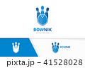 シンボルマーク ロゴ ボウリングのイラスト 41528028