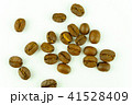 roasted coffee beans isolated on white background 41528409