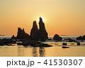 和歌山県・橋杭岩からの日の出 41530307