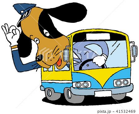犬のバス運転手 41532469