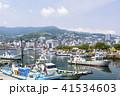 熱海港 漁船 港の写真 41534603