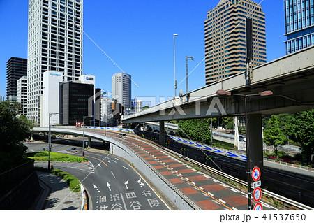 高速道路が交わる赤坂見附の立体交差 41537650