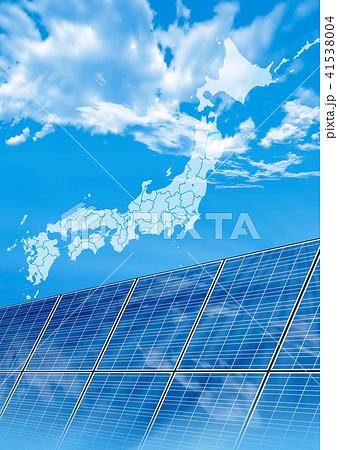 日本地図 41538004