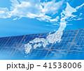 日本地図 41538006