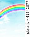 空 虹 背景素材のイラスト 41542877