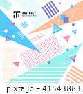 ジオメトリック 幾何学的 パターンのイラスト 41543883
