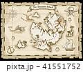 海賊 手 描くのイラスト 41551752