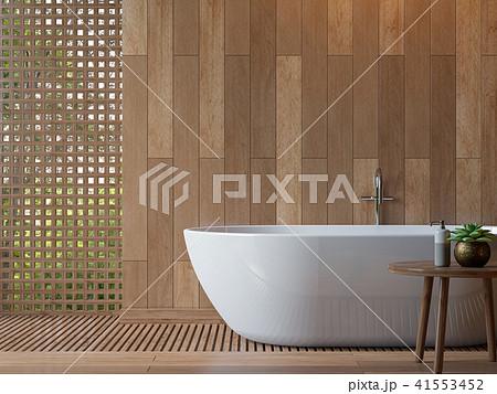 Modern contemporary bathroom 3d render 41553452