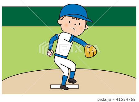 野球 左ピッチャー 41554768