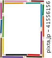 カラフル 多彩 色とりどりのイラスト 41556156