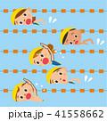 プールで泳ぐ子供達 41558662
