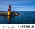 《北海道 天売島》 天売島から灯台と利尻富士 41559616