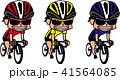 自転車 ロードバイク ロードレースのイラスト 41564085