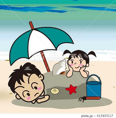砂遊び 41565517