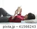 読書 女性 41566243