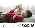 読書 女性 41566246