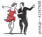 社交ダンスのアイコン 41567686