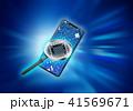 スマートフォン スマホ コアのイラスト 41569671