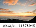 夜明け 日の出 雲海の写真 41573945