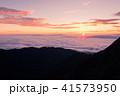 夜明け 日の出 雲海の写真 41573950