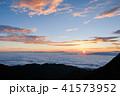 夜明け 日の出 雲海の写真 41573952