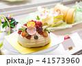 ケーキ屋さん 可愛いデコレーションケーキ 41573960