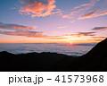 夜明け 日の出 雲海の写真 41573968