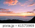 夜明け 日の出 雲海の写真 41573969