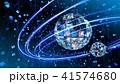 ビッグデータ オンライン テクノロジーのイラスト 41574680