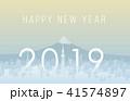東京と富士山 2019 41574897