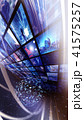 ビッグデータ 映像 ホログラムのイラスト 41575257