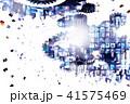 ビッグデータ ネットワーク 映像のイラスト 41575469