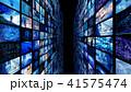 ビッグデータ 映像 情報のイラスト 41575474