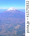 空撮 富士山 山の写真 41575832
