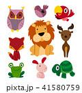 動物 鳥 マンガのイラスト 41580759