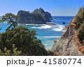 三四郎島 伊豆 トンボロ現象の写真 41580774