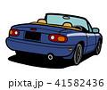 自動車 車 白バックのイラスト 41582436