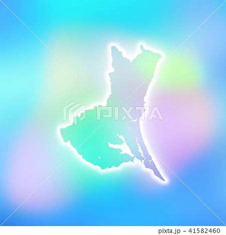 茨城県地図 41582460