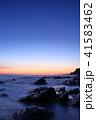 海岸 海 夜明けの写真 41583462
