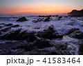 海岸 海 夜明けの写真 41583464