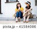 若い 女性 旅行の写真 41584086