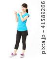 女性 フィットネス ダイエットの写真 41589266