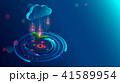 クラウド データ ビジネスのイラスト 41589954