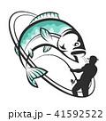 サカナ 魚 魚類のイラスト 41592522