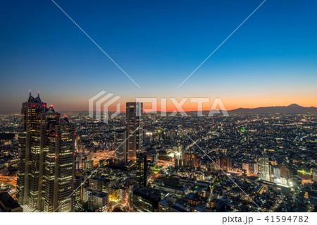 【東京都】都市風景 41594782