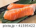 鮭の切り身 41595422
