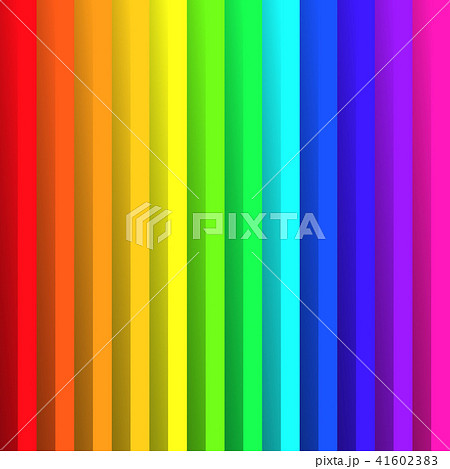 Overlapping colorful paper sheets in colors of rainbow spectrum. With shadow effect. Happy abstract 41602383