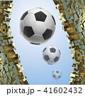 ボール 球 サッカーのイラスト 41602432