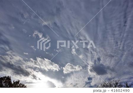 美しい空と雲、ドラマチックな雲海と太陽の光 41602490