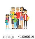 ファミリー 家庭 家族のイラスト 41606619